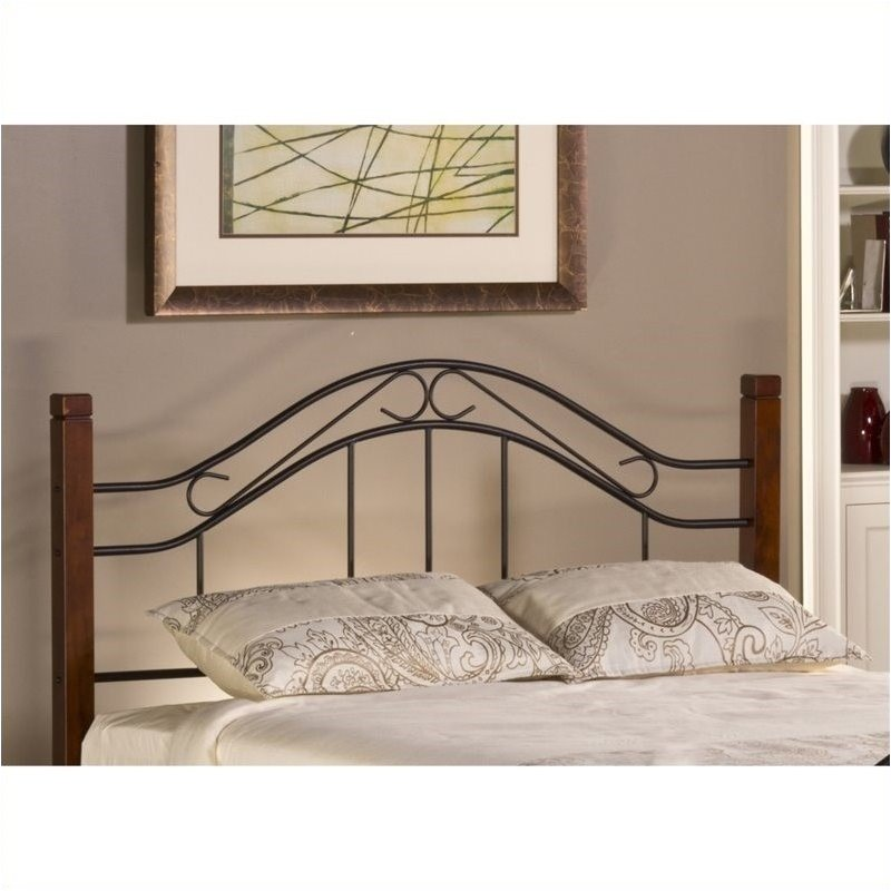 Hawthorne Collections Full Queen Spindle Headboard in Che...