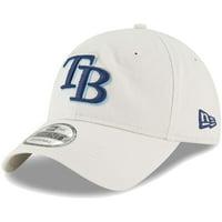 Tampa Bay Rays New Era Core Classic Twill 9TWENTY Adjustable Hat - Tan - OSFA