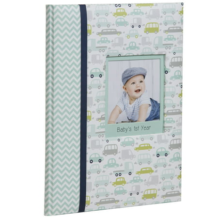 Book Photo Album (Pinnacle Frames and Accents Baby Boy's First Year Milestone Memory Book Journal and Photo)