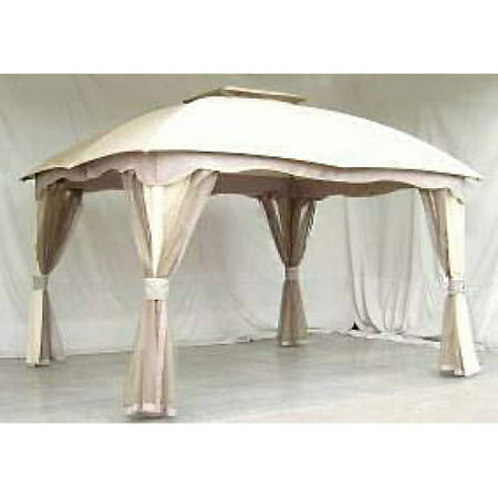 Garden Winds Replacement Canopy Top For Roof Style Gazebo Riplock 350