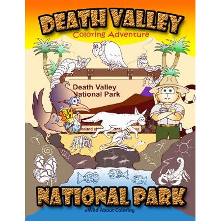 Death Valley National Park Coloring Adventure ()