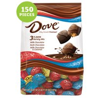 DOVE PROMISES Variety Mix Chocolate Candy 43.07 Ounce 153-Piece Bag