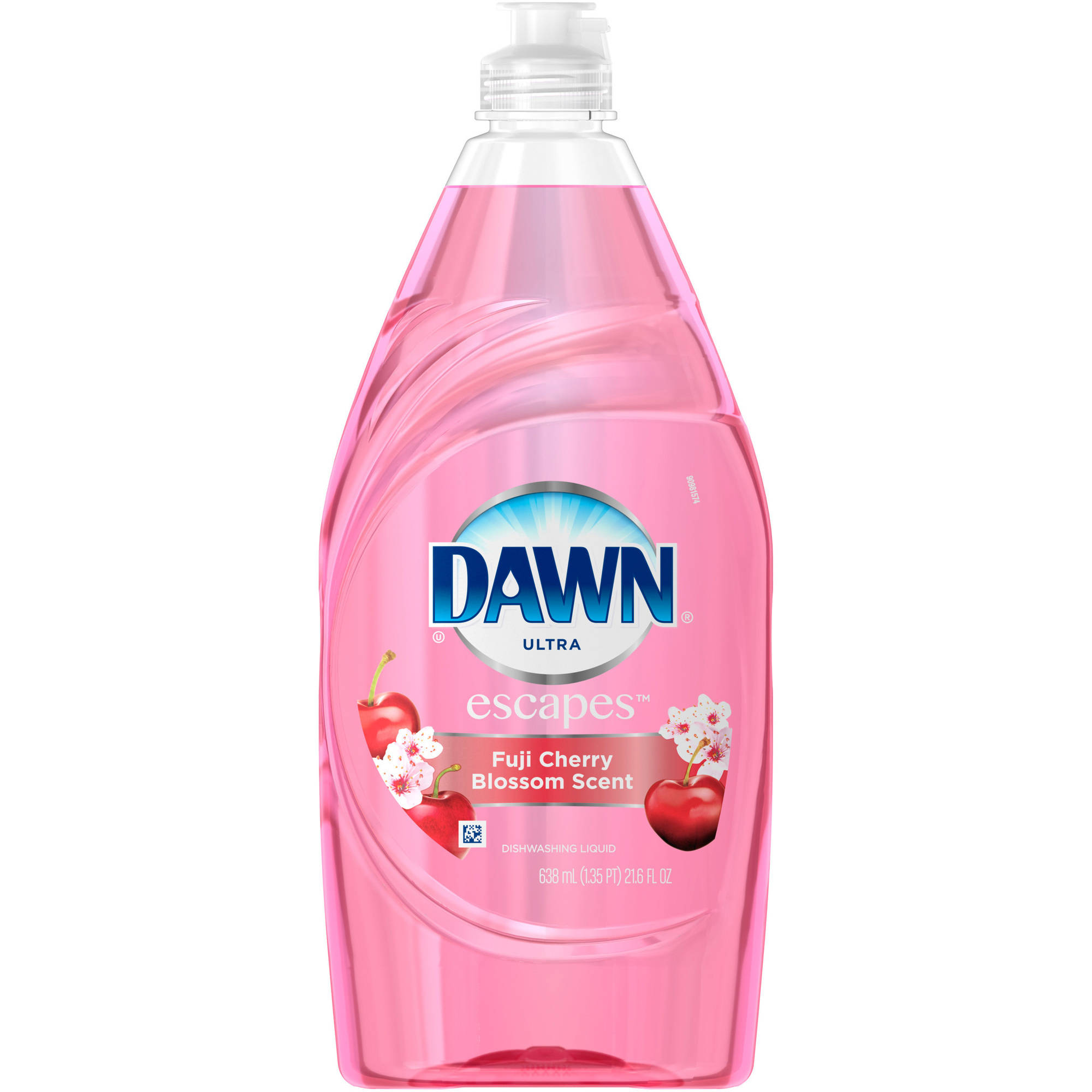Dawn Escapes Fuji Cherry Blossom Dishwashing Liquid, 24 fl oz