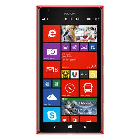 Nokia Lumia 1520 Rm 940 16Gb At Unlocked 4G Lte Quad Core Windows Phone W  20Mp Camera   Red