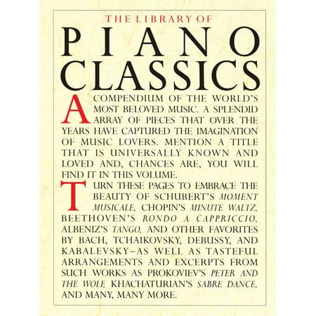 The Library of Piano Classics - eBook