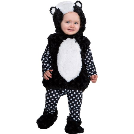 Halloween Costumes 2019 Friends (Animal Friends Little Stinker Skunk Costume Infant 12-18)
