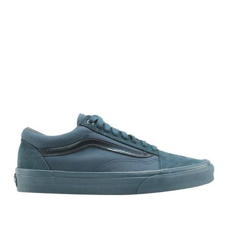 Vans Old Skool Mono Dark Teal Classic Low Top Sneakers VN0A38G1QKD