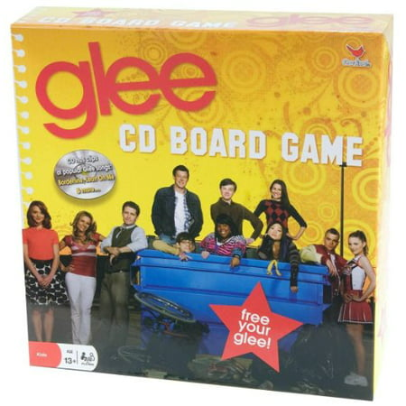 Cardinal Glee CD Board Game with Songs & Clips from the TV Show