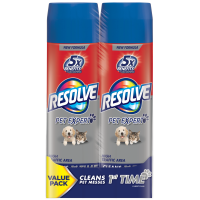 Resolve Pet High Traffic Carpet Foam Dual Pack, 44oz (2 Cans x 22oz)