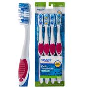 Equate Multi Level Soft Orbit Toothbrush, 4 count