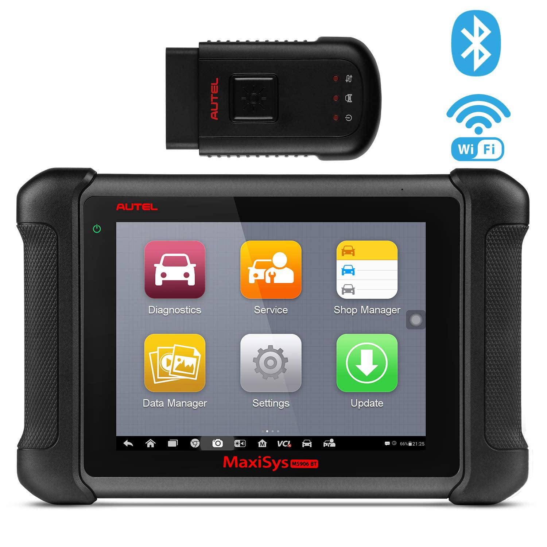 Automotive Scan Tool >> Autel Maxisys Ms906bt Obd2 Scanner Bluetooth Automotive Diagnostic Tool With Ecu Coding Active Test Immo Oe Level Diagnosis Oil Reset Epb Sas