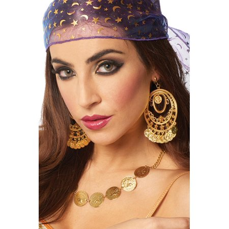 Gypsy Coin Necklace](Gypsy Costume Jewelry)