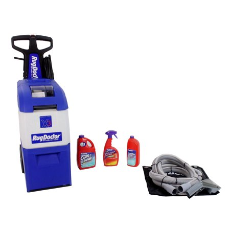 Brand new Rug Doctor X3 Carpet Shampooer with Upholstry attachment & solution