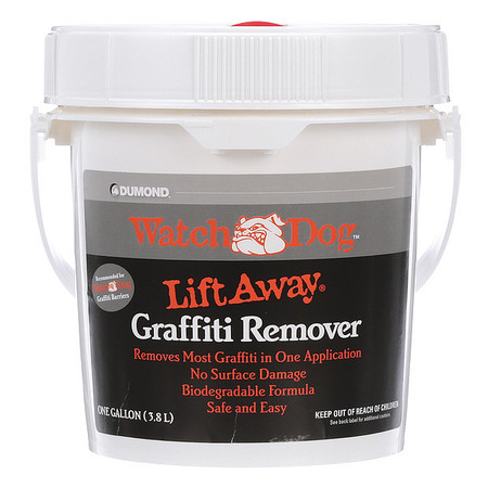 Watch Dog Lift Away Soy-Based Smooth Surface Graffiti Remover, 1 Gallon DUMOND 8201