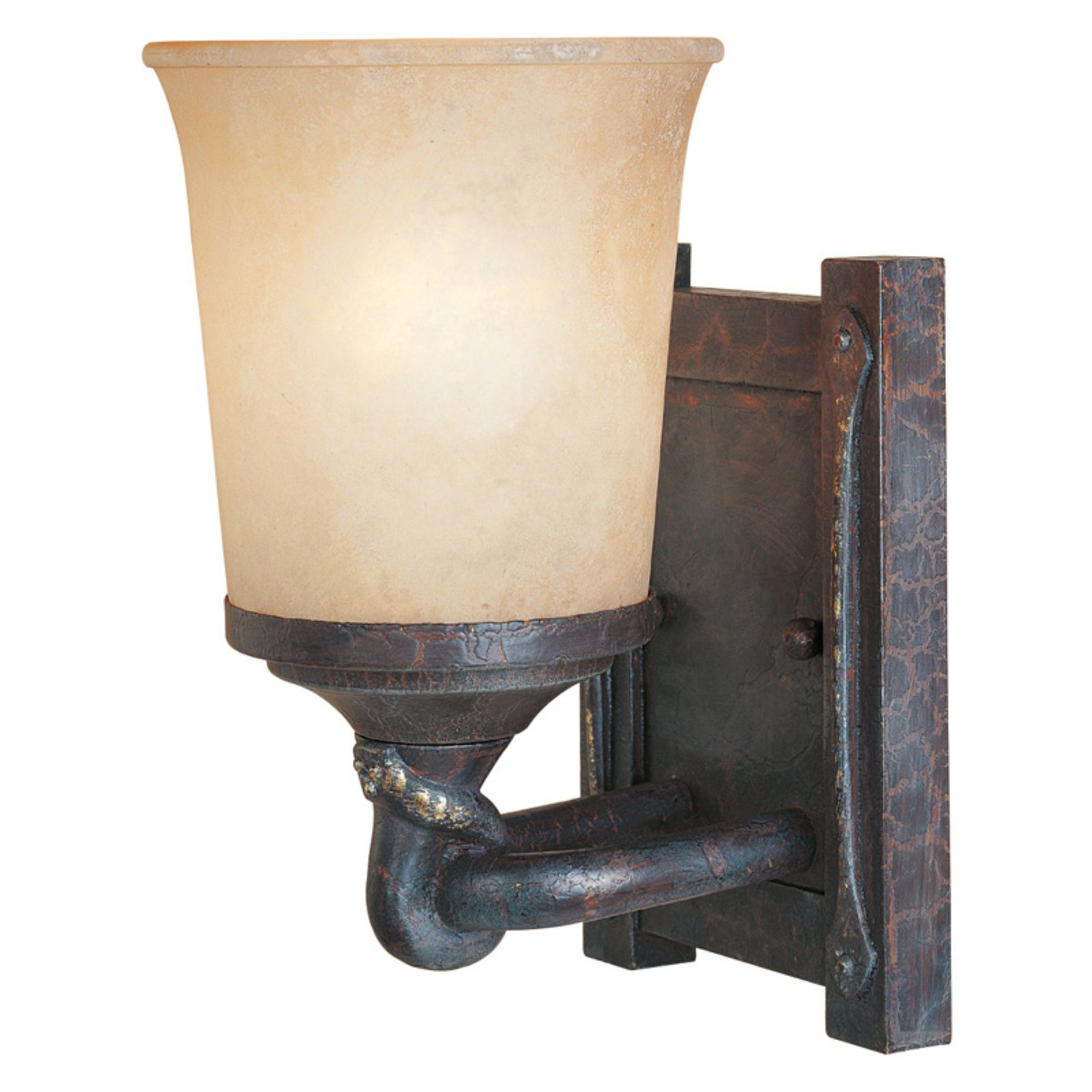 Designers Fountain 97301 Austin Wall Sconce in Weathered Saddle Finish