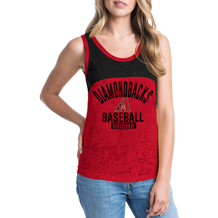 MLB Arizona Diamondbacks Women's Short Sleeve Team Color Graphic Tee