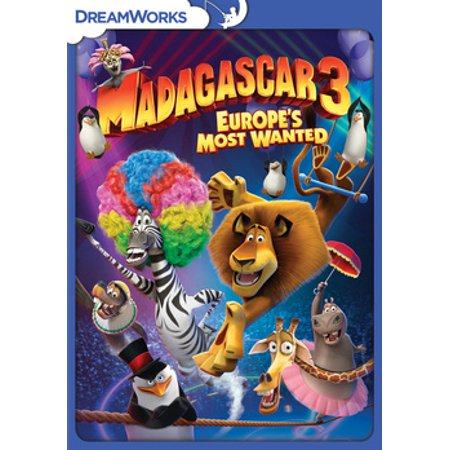 Madagascar 3: Europe's Most Wanted (DVD) - Madagascar 3 Characters