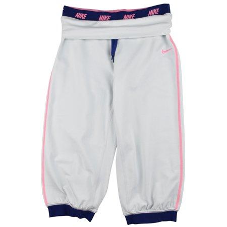 new style ae4d5 b7320 Nike - Nike Big Girls (7-16) Dri-Fit Victory Training Capri Pants-Gray -  Walmart.com
