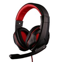 Pro Fortnite Headset with Mic & Volume Control for PC Orange