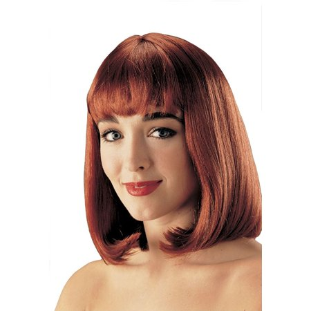 Peggy Sue Womens Pulp Fiction Medium Short Costume Wig With