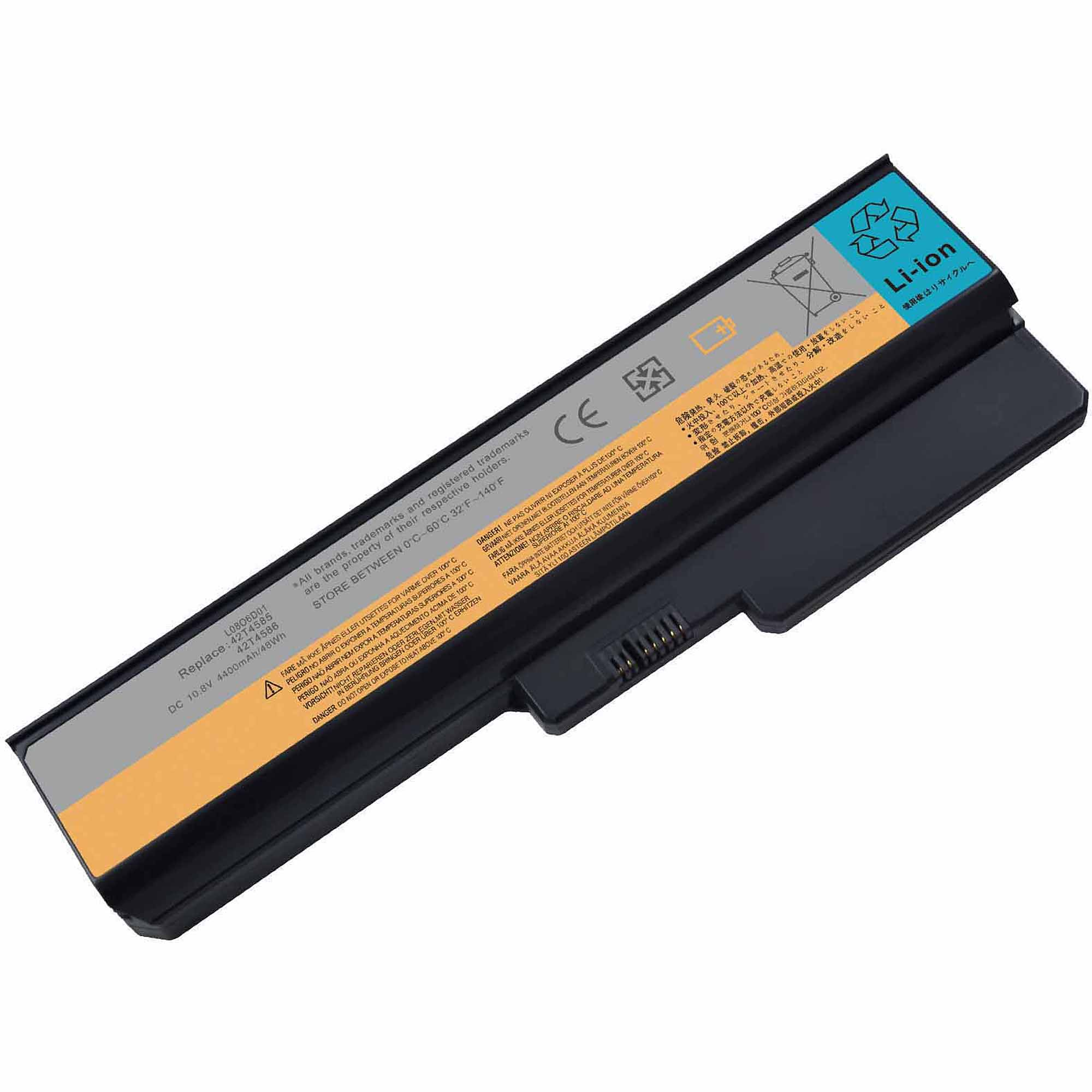 Replacement Laptop G450 Battery for IBM Laptop PCs