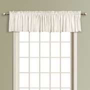 United Curtain Anna Lined Faux Silk Straight Valance
