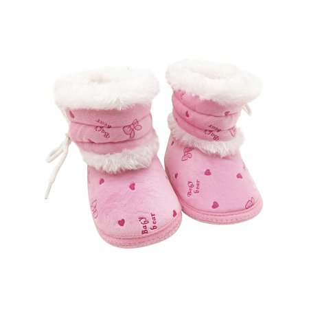 Babula Baby Kids Girls Anti-Skid Winter Warm Snow Boots Shoes (Baby Shoes Boots)