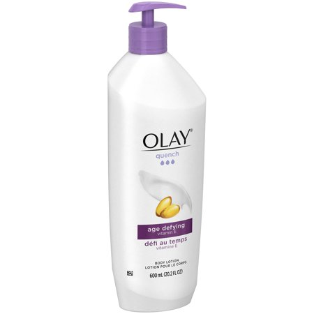 Olay Quench Age Defying Vitamin E Body Lotion 20.2 fl. oz. Pump