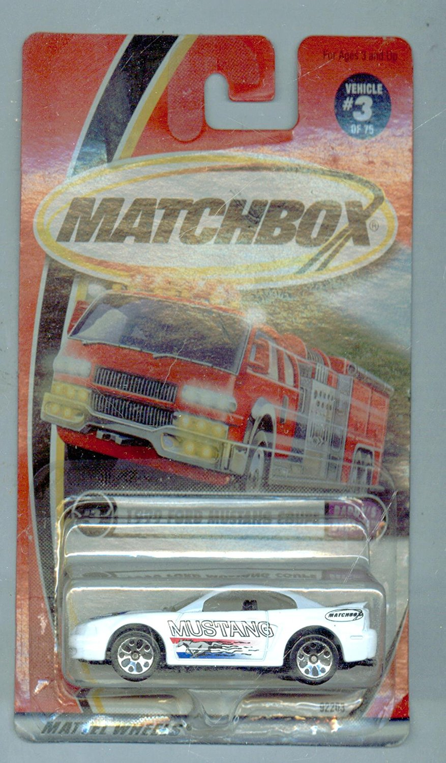 2001-3 75 Daddy's Dreams 1999 Ford Mustang Coupe 1:64 Scale, By Matchbox by