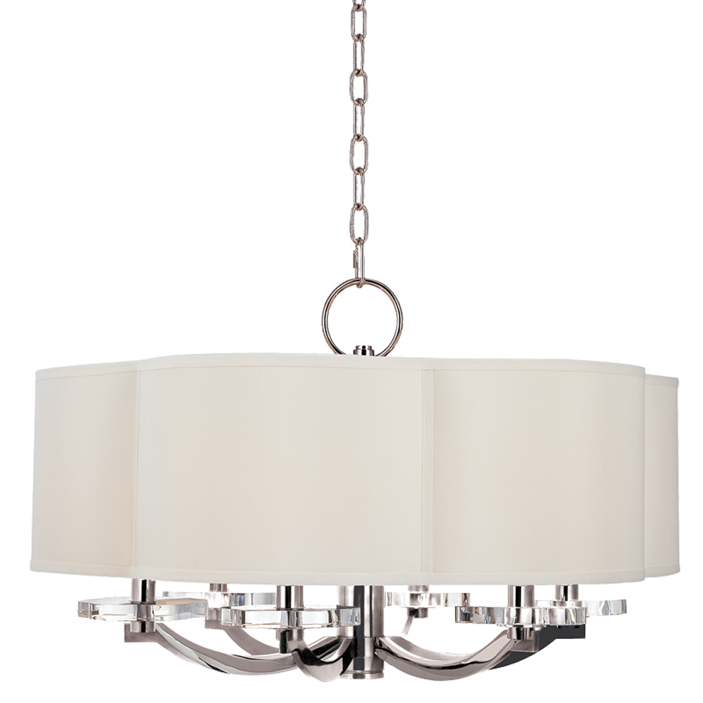 Hudson Valley 1426-PN 6 LIGHT CHANDELIER