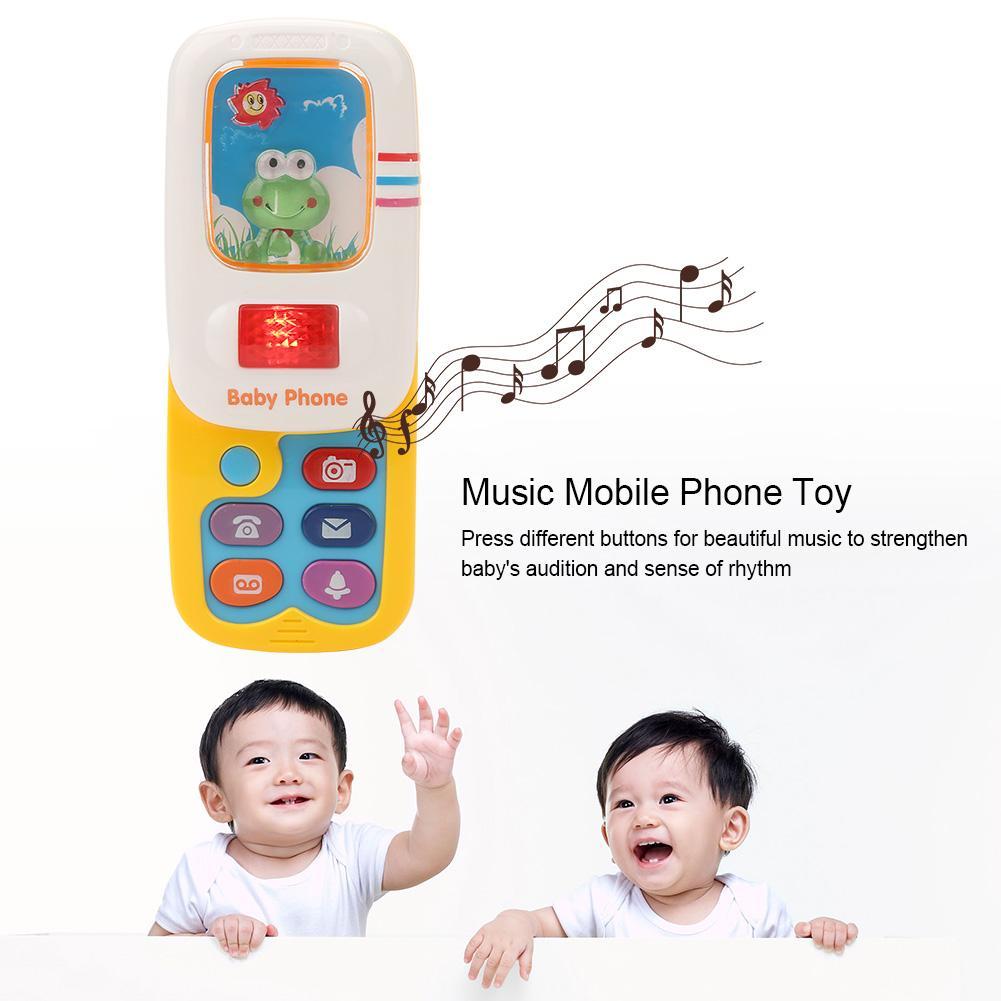Dynamovolition Jouet /Électronique T/él/éphone Musical Mini Mignon Enfants T/él/éphone Jouet /Éducation Pr/écoce de Bande Dessin/ée Mobile T/él/éphone T/él/éphone T/él/épho