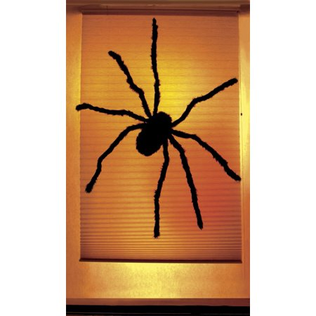 Black Widow Spider Halloween Window Decoration 34.5