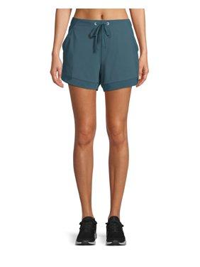 24741139a3b3 Womens Activewear Shorts & Skirts - Walmart.com