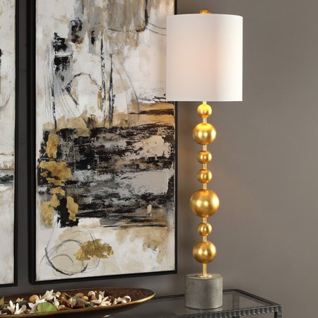 Uttermost Selim Gold Buffet Table Lamp