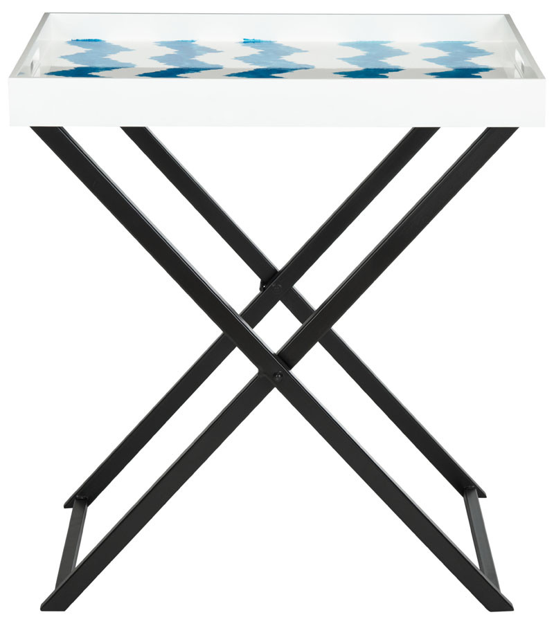 Safavieh Abba Tray Table, Multiple Colors