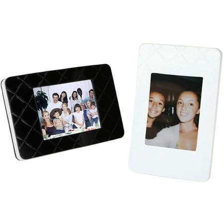 Fujifilm Instax Mini Picture Frames (Black & White 2-Pack) - Walmart.com