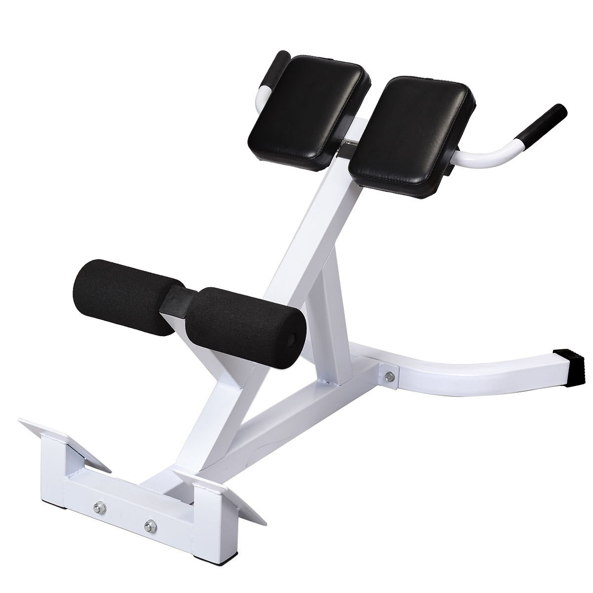 Costway Extension Hyperextension Back Exercise AB Bench G...