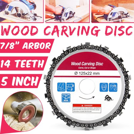 Angle Grinder Blades - Saw Blade Disc for Angle Grinder 127mm Wood Cutting Discs Circular 14 Teeth Grinder