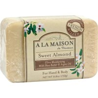 A La Maison Bar Soap Sweet Almond - 8.8 oz Bar Soap