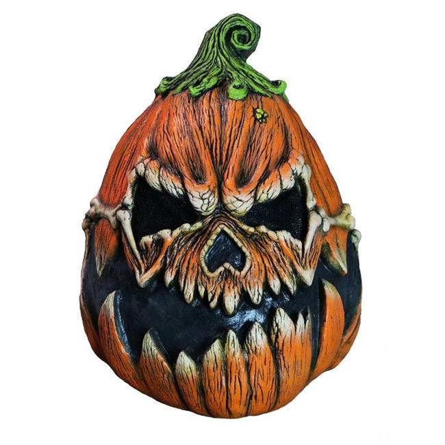 Fearscape Studios FS002 Pumpkin Scary Adult Halloween Latex Mask