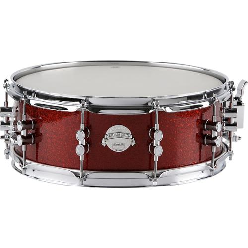 PDP Platinum Finishply Solid Maple Snare 5X14 Red Sparkle