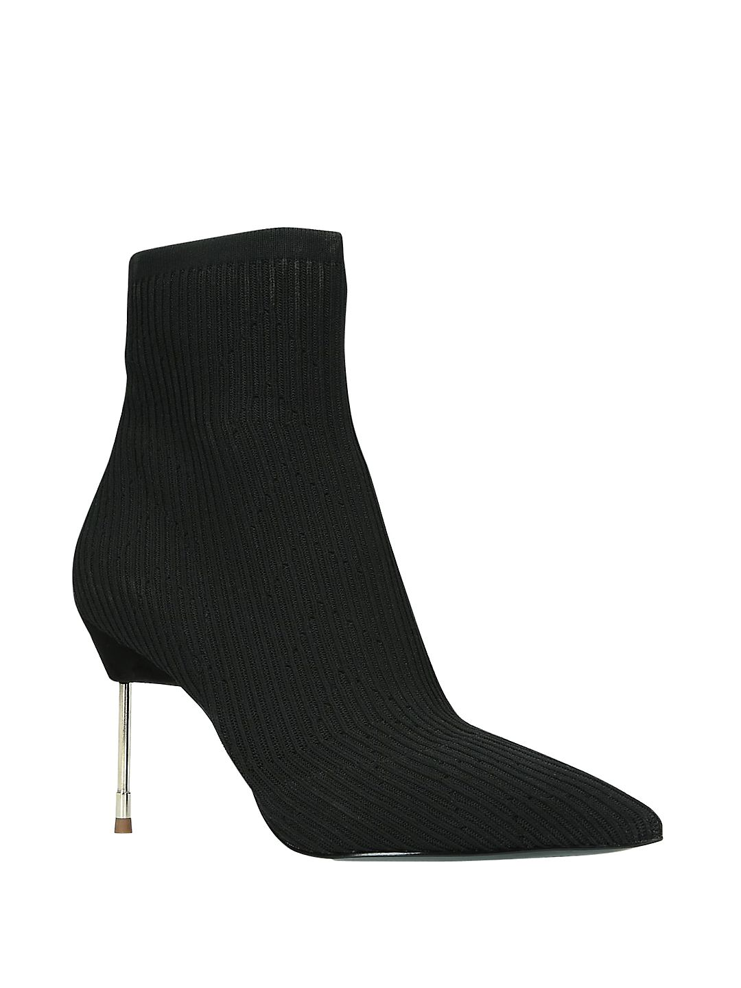 Barbican Stiletto Sock Ankle Boots