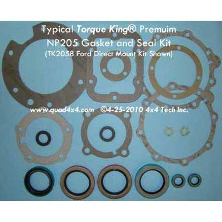 TK2062 Premium Gasket and Seal Kit for 1969-1984 27 Spline GM NP205
