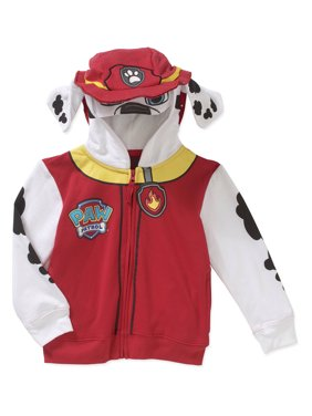 Paw Patrol Toddler Boys Marshall Costume Zip-Up Hoodie Sweatshirt