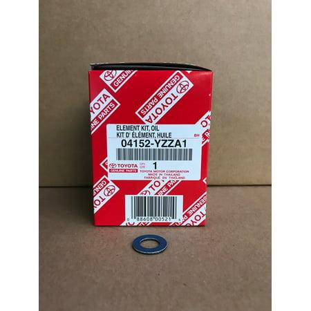 OEM Toyota Oil Filter 04152-YZZA1 & Gasket 90430-12031 (Toyota Oem Oil Filter)