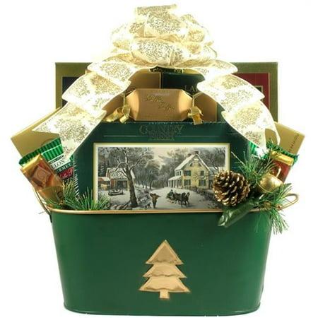 Gift Basket Drop Shipping Chel Christmas Elegance  Holiday Gift Basket
