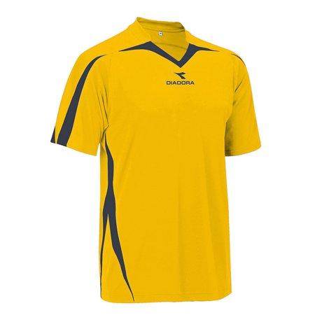 Diadora T-shirt - Diadora Men's Rigore Jersey S/S Shirts GOLD M