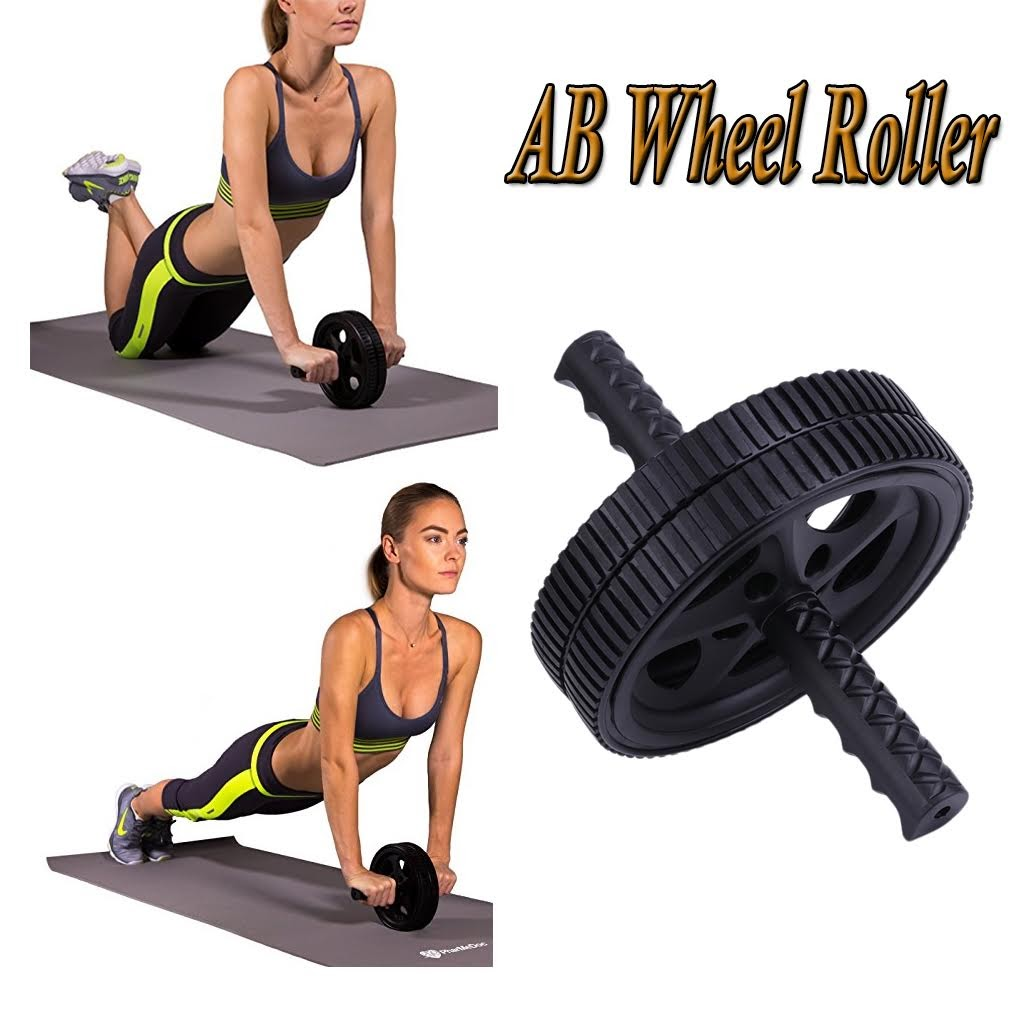 Ab machine exercise equipment ab wheel roller for core workout