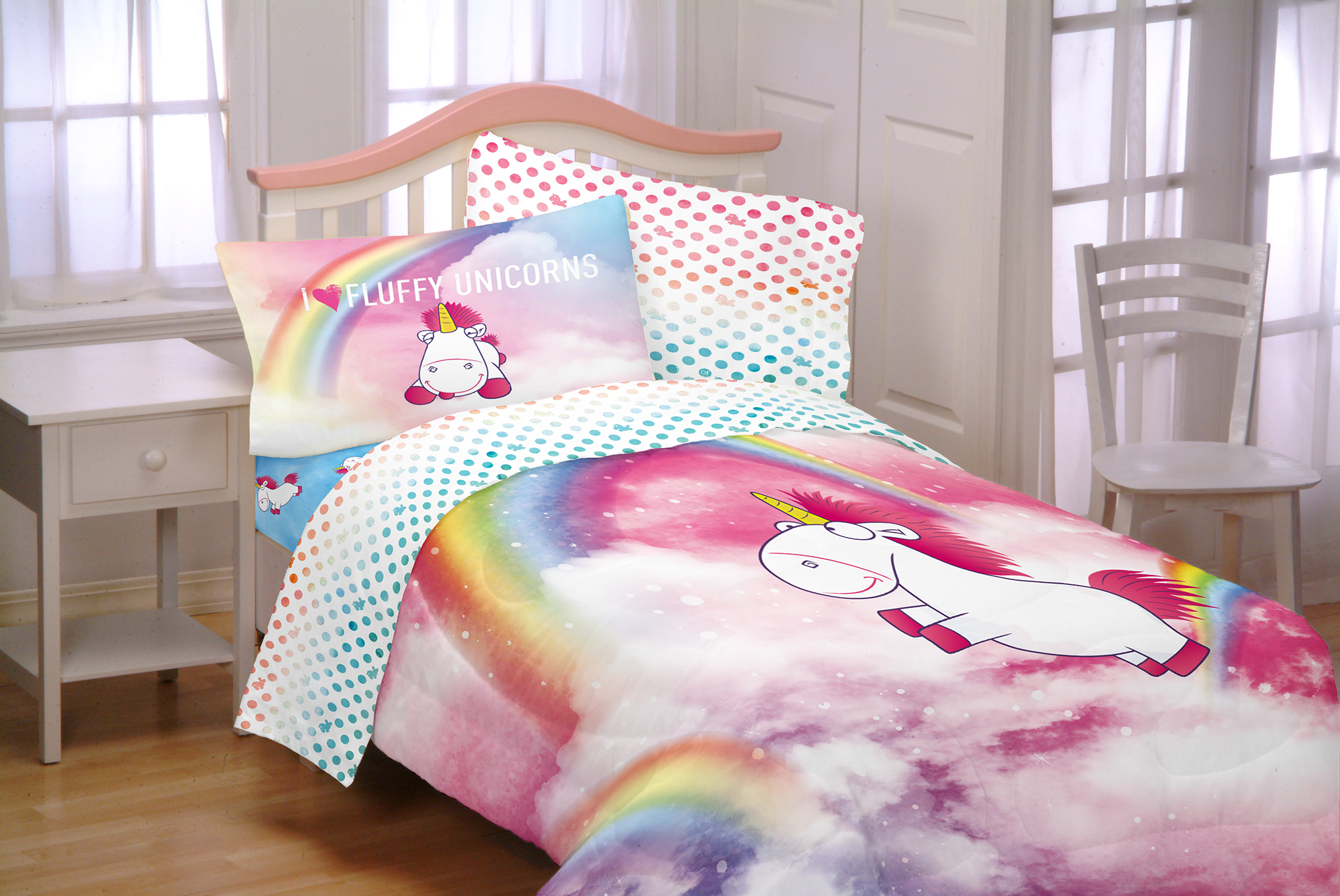 bed ponden zoom pink home folk collection previousnext catherine quiltset bedding lansfield jbq cut clk out unicorn