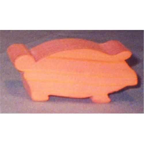 THE PUZZLE-MAN TOYS W-2039 Wooden Play Farm Series - Accessories - Pig